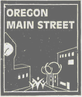 Oregon Main Street logo